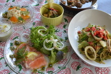 料理レッスン写真 - リクエスト追加☆美肌に効くオイルの使い方を創作イタリアンコースで学ぶ