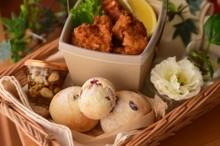 料理レッスン写真 - 自家製酵母パン!ライ麦グランベリーパンとやわらかフライドチキン