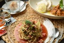 料理レッスン写真 - ★美肌的★ 自家製ナッツバターを使った夏のさっぱり創作イタリアンコース