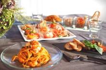 料理レッスン写真 - Party Food! 色鮮やかな5種の前菜&濃厚赤エビPasta‼