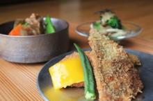 料理レッスン写真 - 一人ずつ鰺の三枚おろしとさくさくフライ!滋味深き筑前煮と♪週末・夜