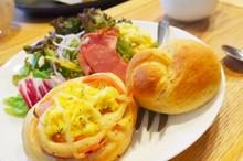 料理レッスン写真 - 初心者さん注目!基礎からのパン作り全粒粉のお総菜&お食事パン