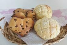 料理レッスン写真 - ✿ハートパン✿&メロンパン♡白神こだま酵母でパン作り