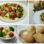 料理レッスン写真 - オリーブオイルがベースの手作りフォカッチャ生地でピザともちもちパン