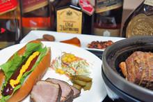 料理レッスン写真 - 自宅で出来る『燻製料理』&レア物スコッチウイスキー飲み比べ