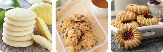 手作りクッキーのイメージ