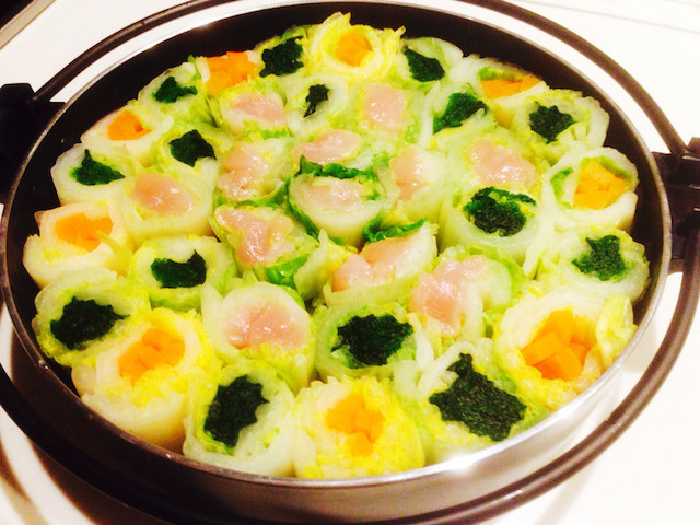 【2016鍋新提案】「白菜まきまき鍋」ならパクパク食べやすい!