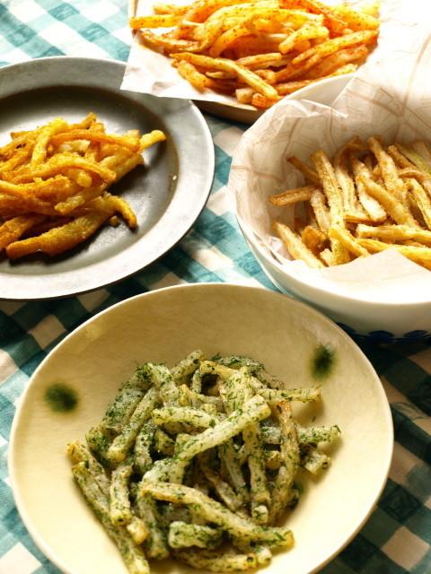 【青のり味、カレー味も!】話題の「フライド大根」をいろんなフレーバーで食べ比べてみた!
