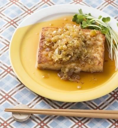 豆腐がメインおかずに!野菜もしっかりとれる【豆腐ステーキ】はいかが?