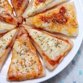 ちくわでピザ生地ができちゃった!!