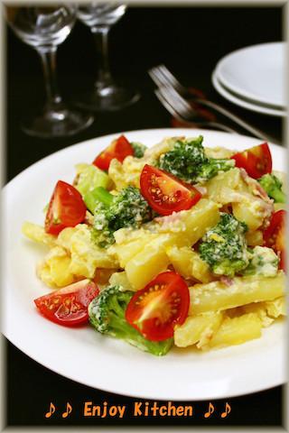 野菜たっぷり♪子供も大好きな「カルボナーラおかず」6選