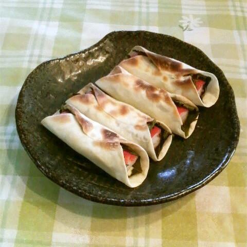 【トースターで簡単】チーズとろける「カニカマ餃子」が晩酌にぴったり!
