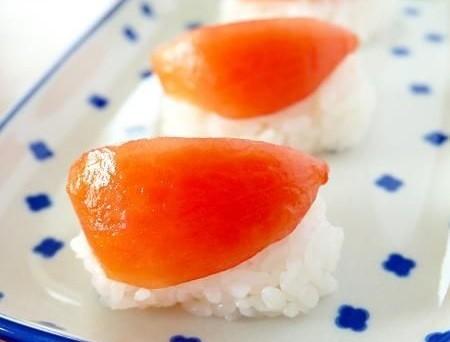 これは驚き!○○でマグロのにぎり寿司!?