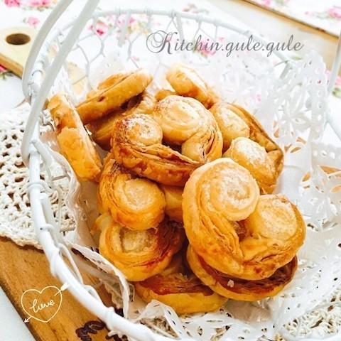【冷凍パイシート活用】「シュガーパイ」はひと工夫でめっちゃ可愛くなれる!