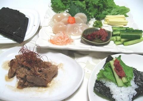 手 巻き 寿司 海苔