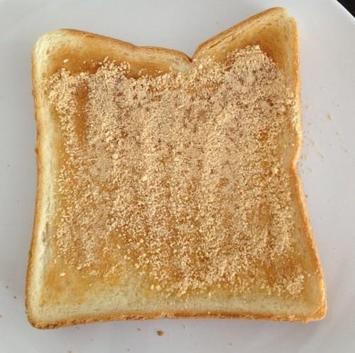 懐かしの給食「揚げパン」をトーストで再現!