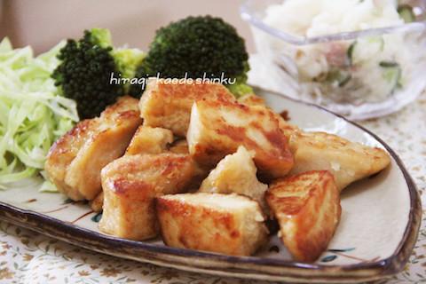 節約&簡単!「高野豆腐」を焼いたら【カリッじゅわ〜】なメインおかずに!