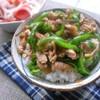 【主菜&お弁当に◎】豚肉×ピーマンの丼が手間なし楽ちん!