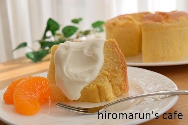 ノンオイルでヘルシー♪「豆腐シフォン」で楽しくダイエット!