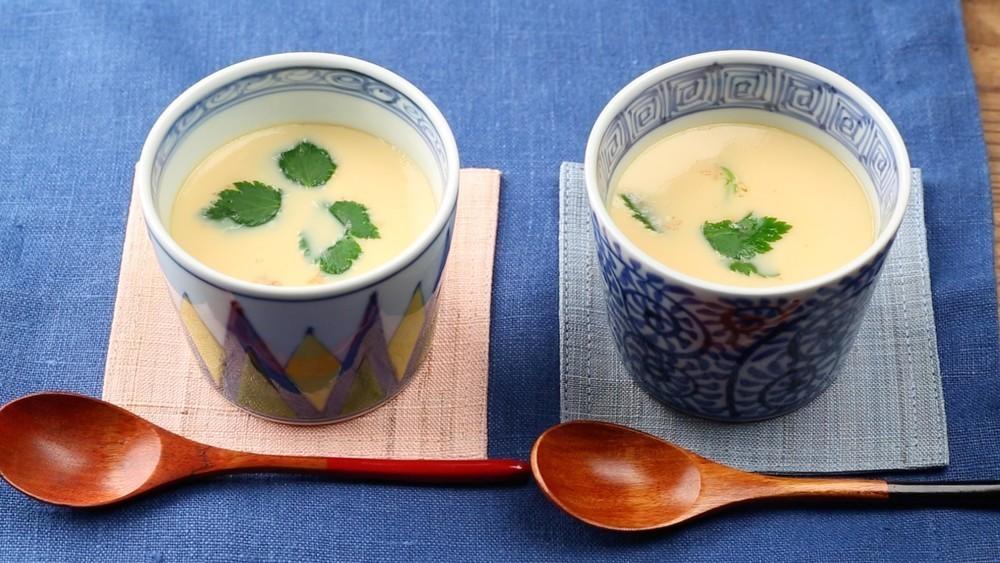 蒸し器がなくても大丈夫!フライパンでできる「茶碗蒸し」の作り方
