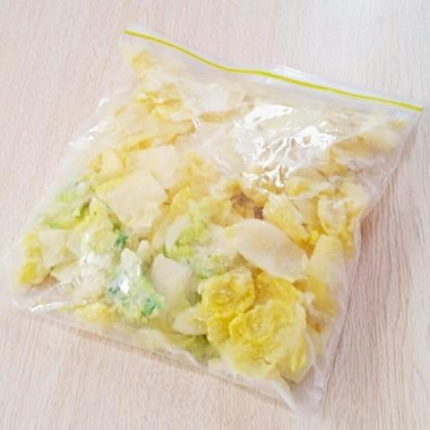 【使い切りワザ】余った白菜は「冷凍」して使い切ろう!