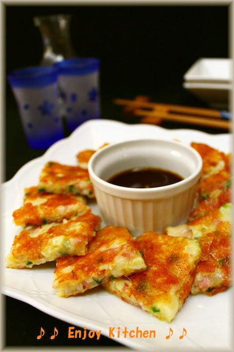 シャキもちっ美味!「長芋チヂミ」を作ってみて〜♪【長芋の下処理レシピ付き】