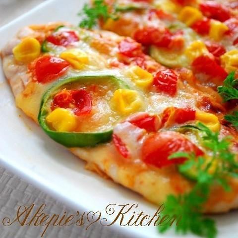 【トースターで焼くだけ】糖質オフにも♪「ささみピザ」が安い・早い・うまい!