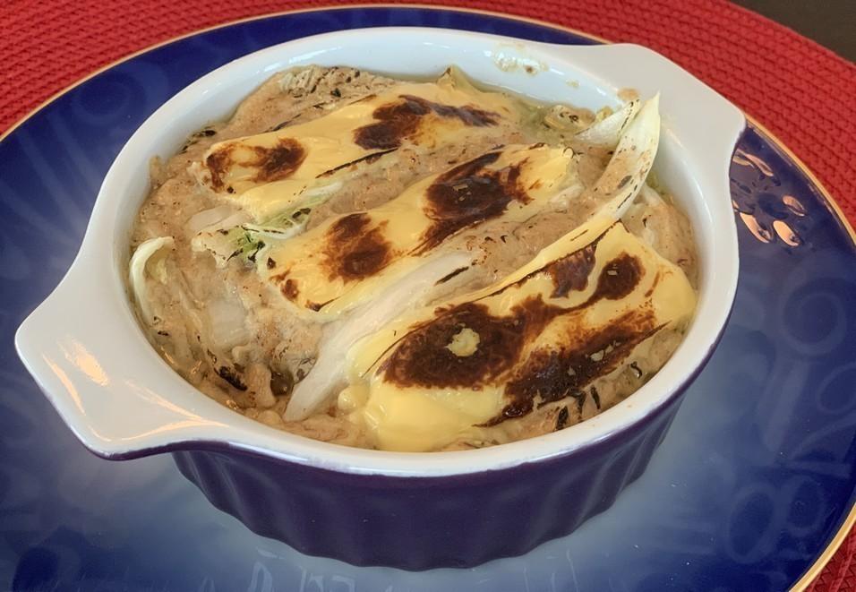 ストック&旬食材で簡単とろ〜り栄養満点!「ツナと白菜の豆乳グラタン」【加藤シェフのtaikanごはん】