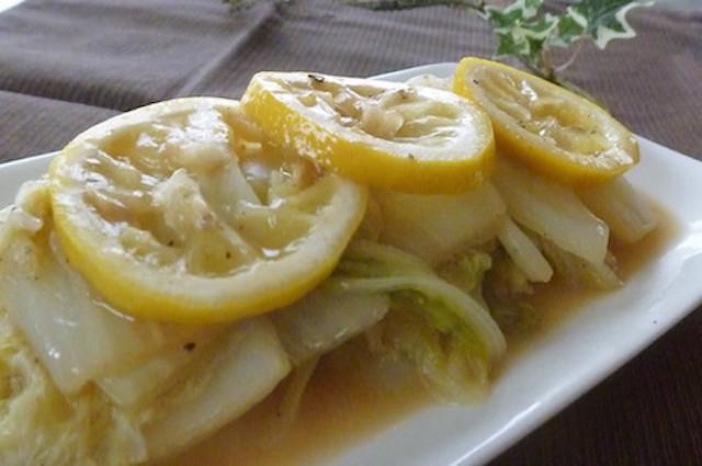 【冬野菜とも相性◎】酸っぱコクうま♪温サラダ感覚の「レモンバターソテー」