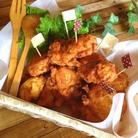 【鶏むね肉1/2枚で】家族4人分の唐揚げを作る「カサ増しテク」を紹介!