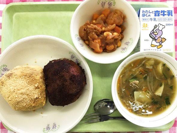 どっちも食べたい!学校給食の代名詞「揚げパン」2種の欲張り献立【人気の給食レシピ/春日部市】