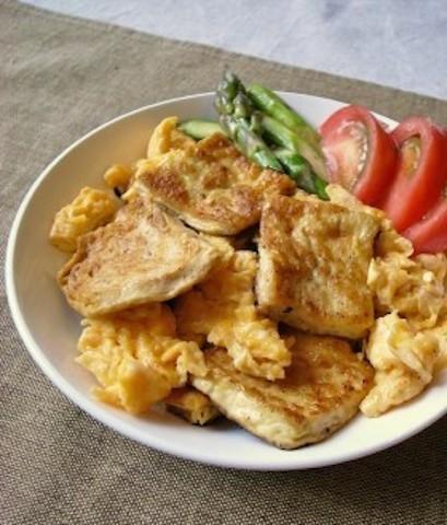 ノー買い物デーに◎ 常備食材の「卵×豆腐」で作れる節約献立