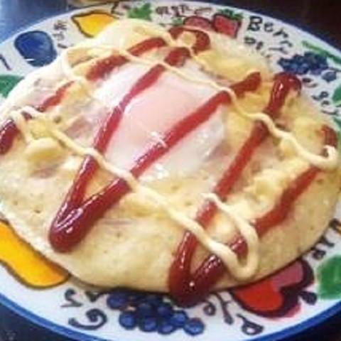 驚きのワンプレート朝食!「ホットケーキ・エッグ」で元気をチャージ