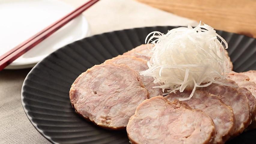 【レンチン簡単】豚こま肉のくるくるチャーシューが柔らかうまい!