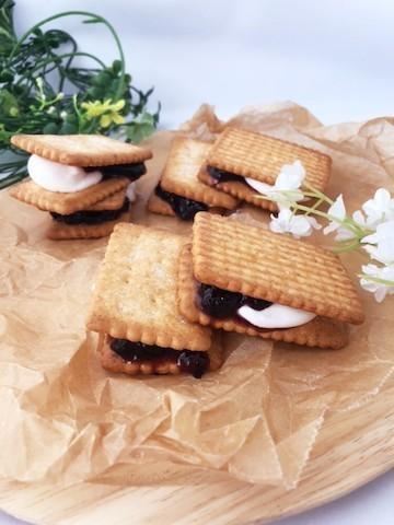 【レンジで簡単】おしゃれで可愛い「マシュマロサンドクッキー」