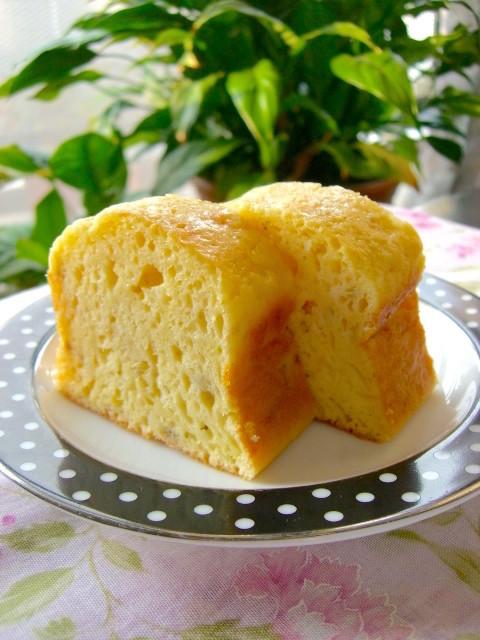 爽やか!HMで作る簡単「バナナヨーグルトケーキ」がしっとり美味♪