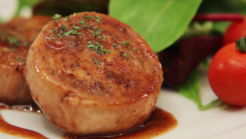 がっつり濃い味が嬉しい☆豚薄切り肉で作る「ロールステーキ」が柔らか美味