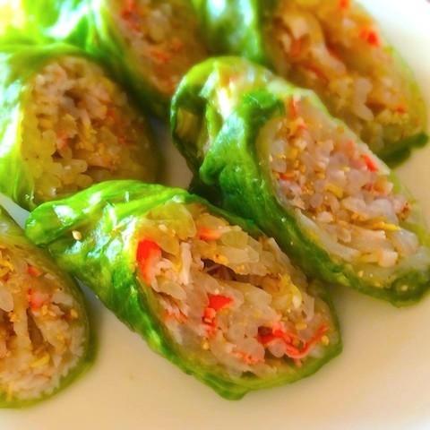 節約&彩りアップ!さっぱり美味しい「レタス巻きサラダ」味バリエ5選