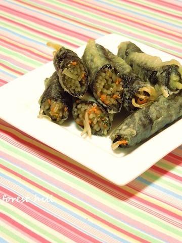 【人気上昇中】韓国の定番屋台メシ「キムマリ」がおつまみやお弁当に使える!