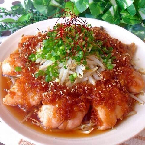 柚子こしょうおろしでさっぱり美味♪「塩鮭のレンジ蒸し」が便利すぎる〜!