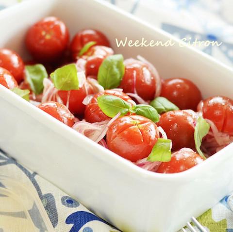 【あと1品に】作りおきすると便利な「ミニトマトのマリネ」5選