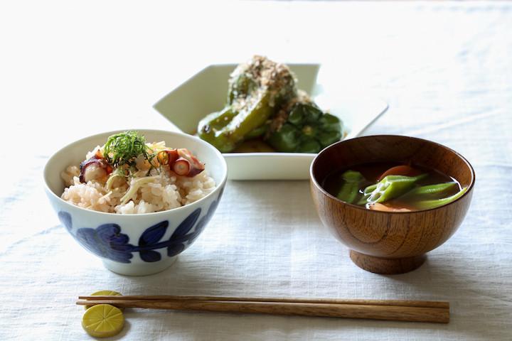 暑い夏を乗り切る!「旬野菜×タコ」の一汁一菜レシピでパワーチャージ