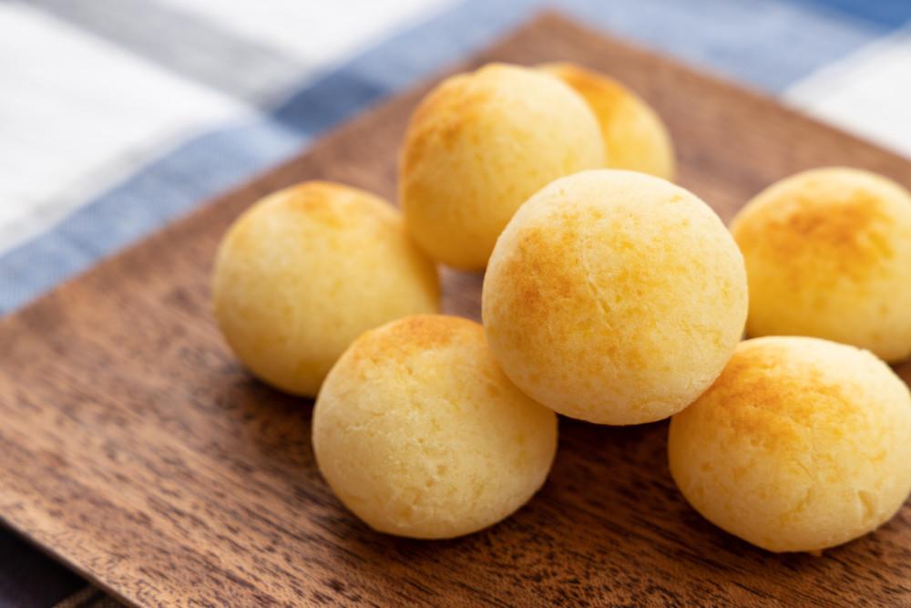 材料4つで簡単!ジャガイモで「ポンデケージョ風もちもちパン」ができた♪