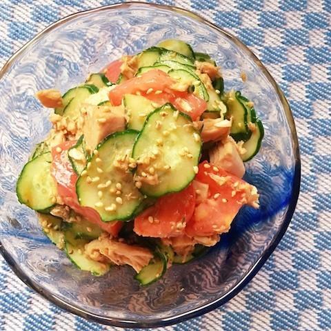 毎日使える「きゅうり×ツナ×食材1つ」で簡単おかず味バリエ5選