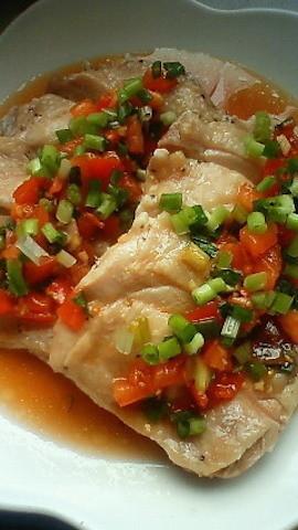 加熱時間10分!レンジでふっくらジューシー♪「鶏の酒蒸し」の中華献立