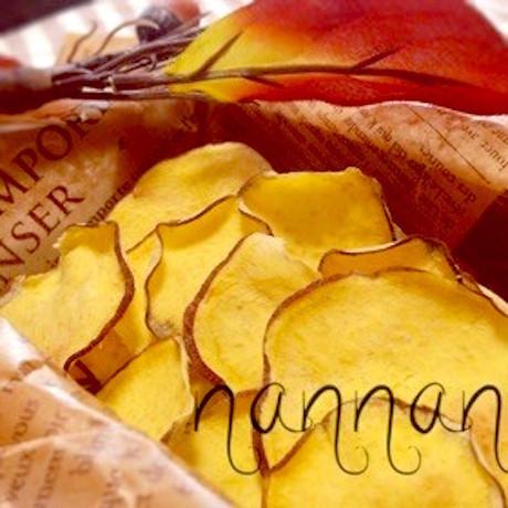 【揚げずにヘルシー】レンジで「秋の味覚チップス」をおやつに作ろう♪