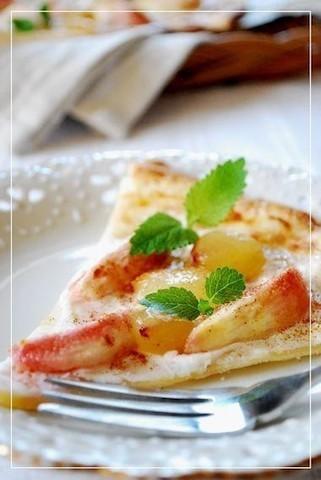 ホムパにいかが?デザート感覚で楽しめる「フルーツピザ」5選