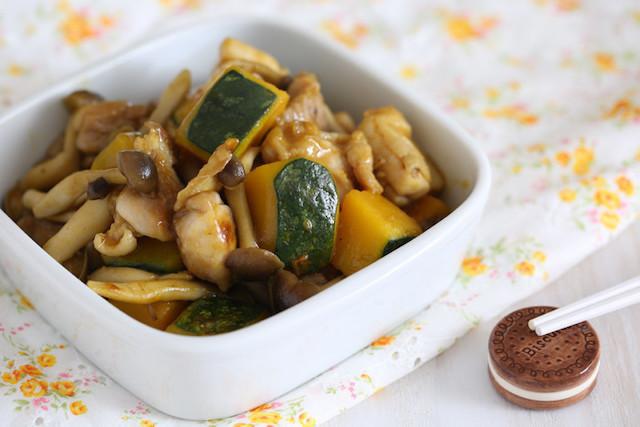 ご飯が進む濃厚味!「鶏肉とかぼちゃ炒め」味バリエ