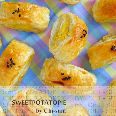 カットするだけで成形楽ちん♪一口サイズの「スイートポテトパイ」が大量生産できた!