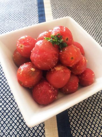 ミニトマトの大量消費に!「さっぱりマリネ」の味バリエ
